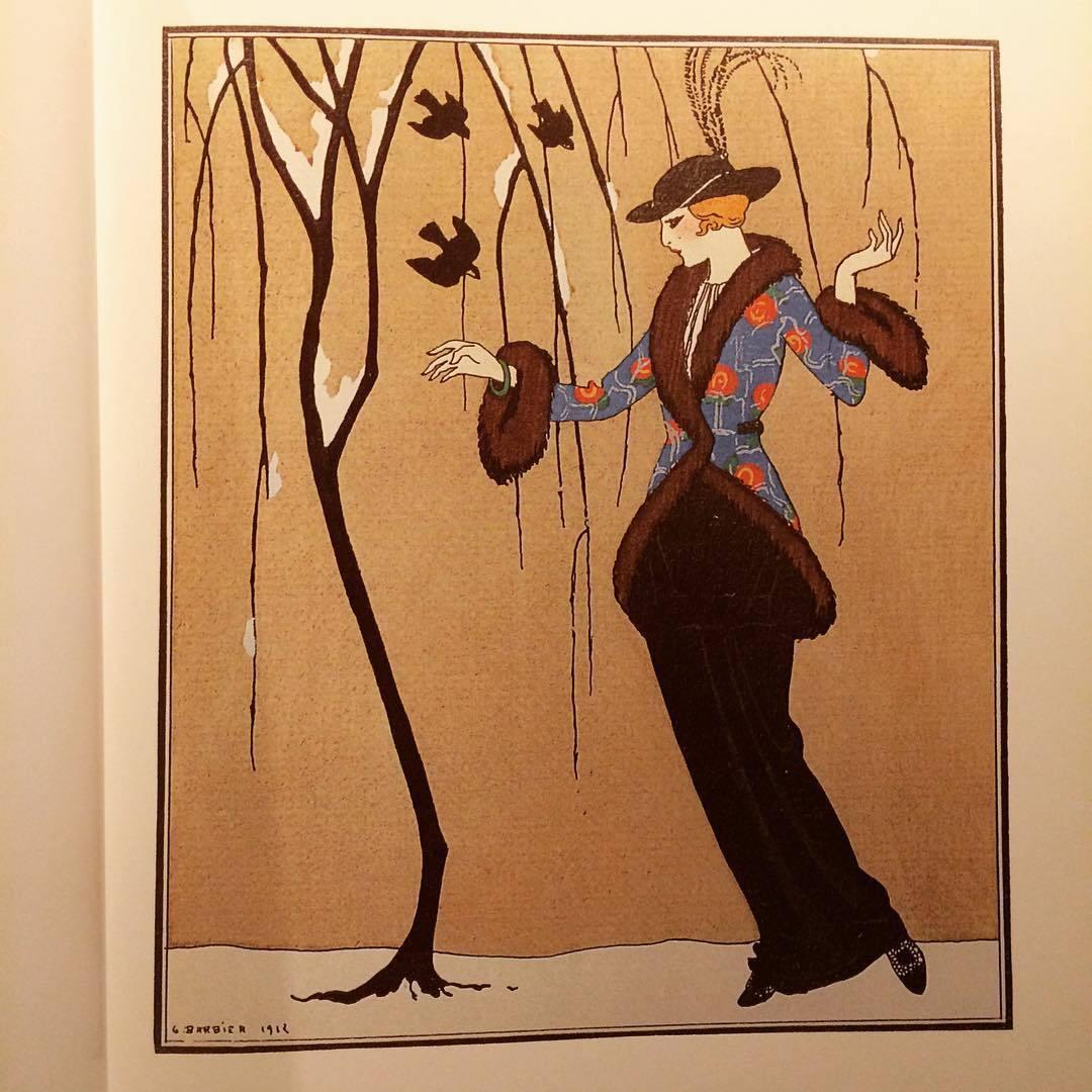 ガゼット・デュ・ボン・トン画集「La Mode parisienne ; la Gazette du bon ton, 1912-1925」 - 画像3