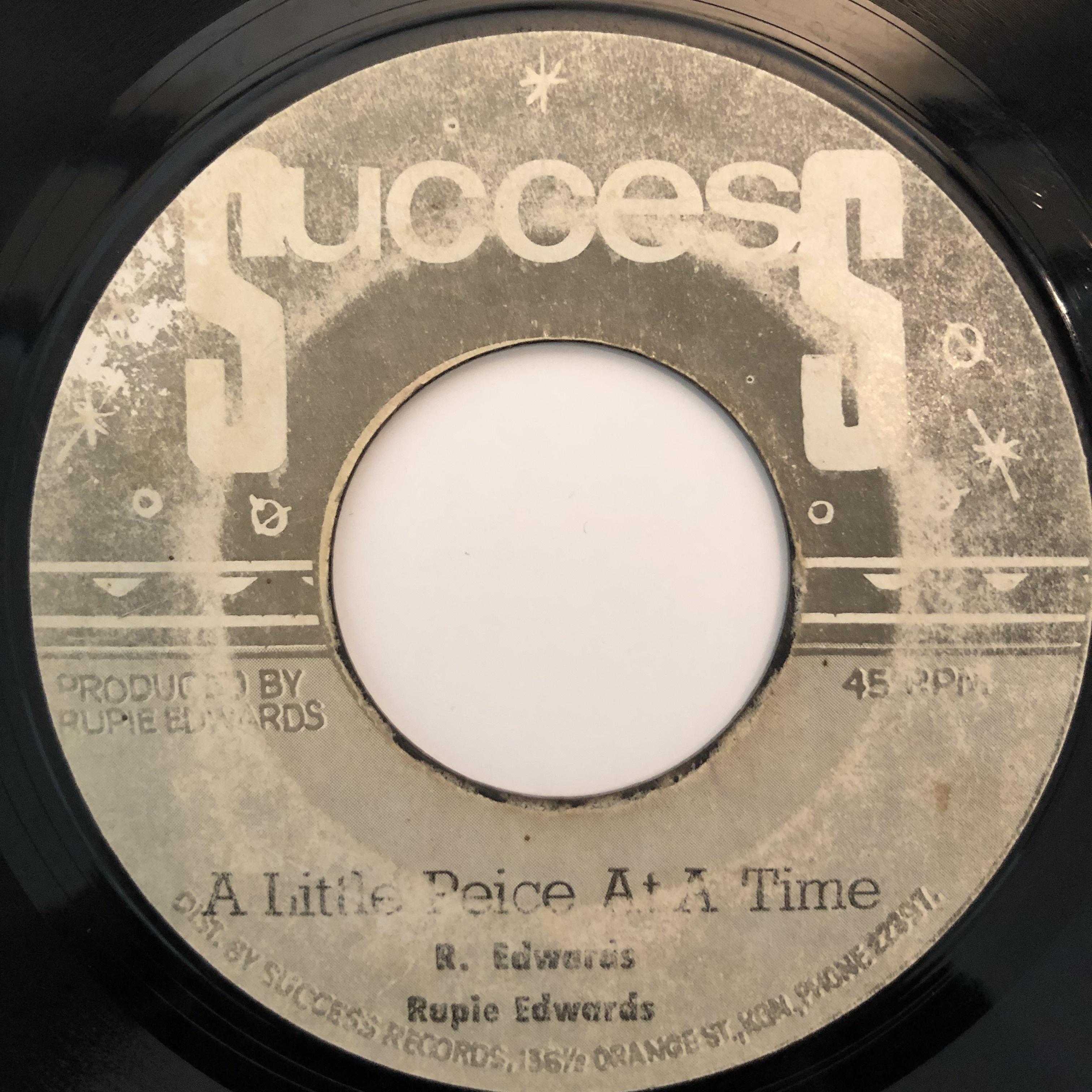 Rupie Edwards - A Little Piece At A Time【7-20332】