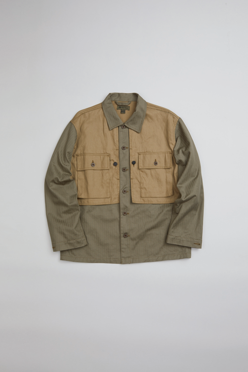 アーミージャケット / ARMY JACKET - COTTON LINEN DENIM