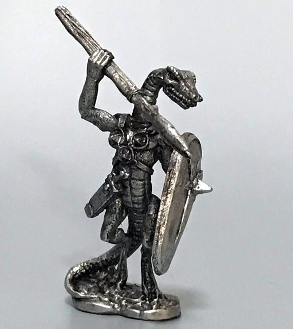 リザードマンの兵卒(3体) - 画像2