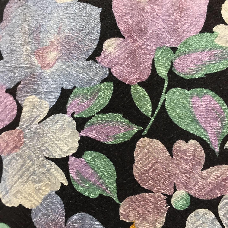 vintage silk design tops