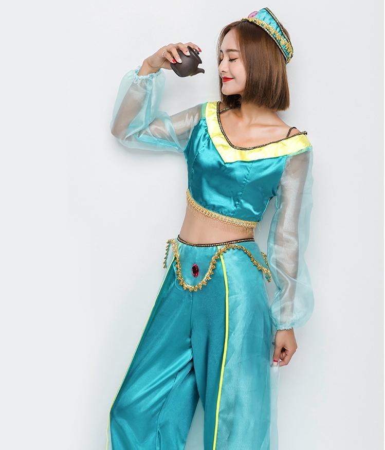 1f13842d63235  ハロウィン衣装 レディース アラジンと魔法のランプ コスプレ衣装  親子仮装 ジャスミン コスチューム. welcome