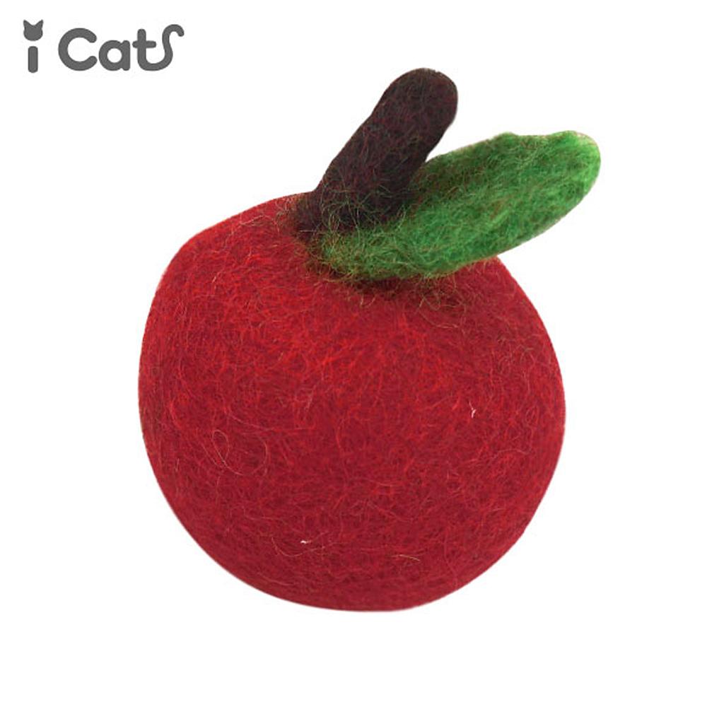 猫トイ(コロコロフィルトトイ)りんご