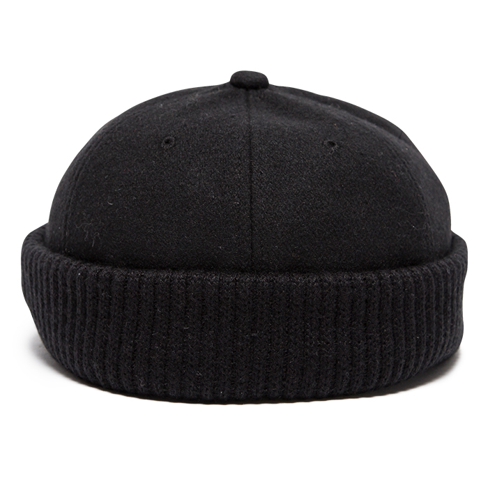 【Deviluse | デビルユース】DVUS Roll Cap(Black)