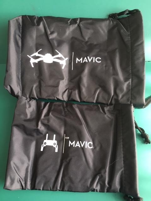在庫限り◆DJI Mavic 本体&送信機又はバッテリーポーチ、大小2個セット  Mavic Airその他衝撃に弱いパーツ類