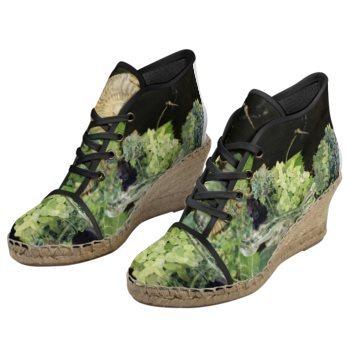【受注生産】ブドウ園の靴 エスパドリーユ