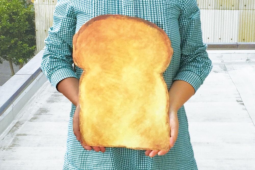 おっきなパンの型抜きポスター?!