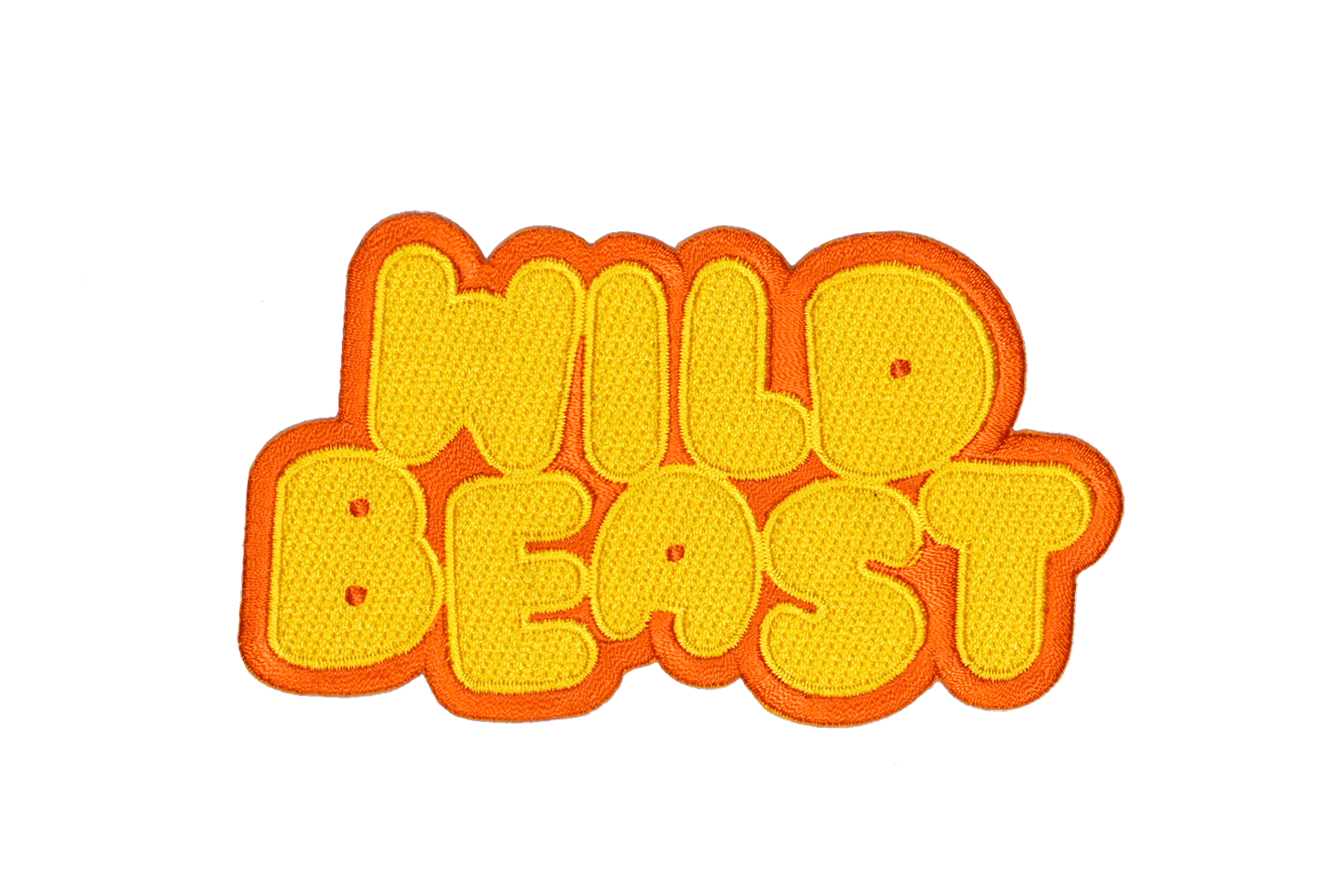 WILD BEAST Embroidered Patch