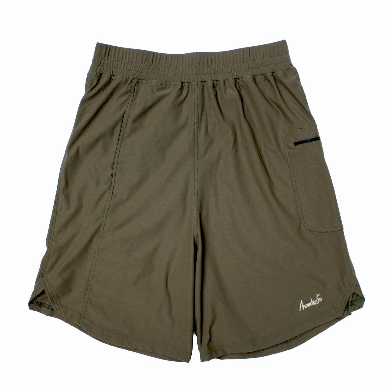 LOGO street shorts <Khaki×Khaki>  - 画像1