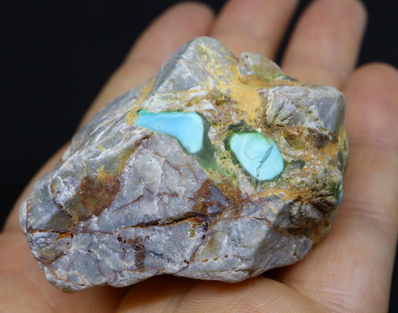 ロイストン ターコイズ Turquoise トルコ石 ネバタ州産 原石 71,1g TQ140 鉱物 天然石 パワーストーン