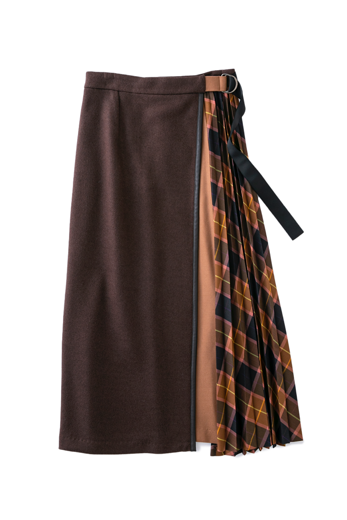 ドッキングスカート<ブラウン>