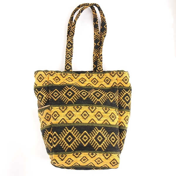df17SM-IRFG01 DESIGN TOTE BAG (yellow)