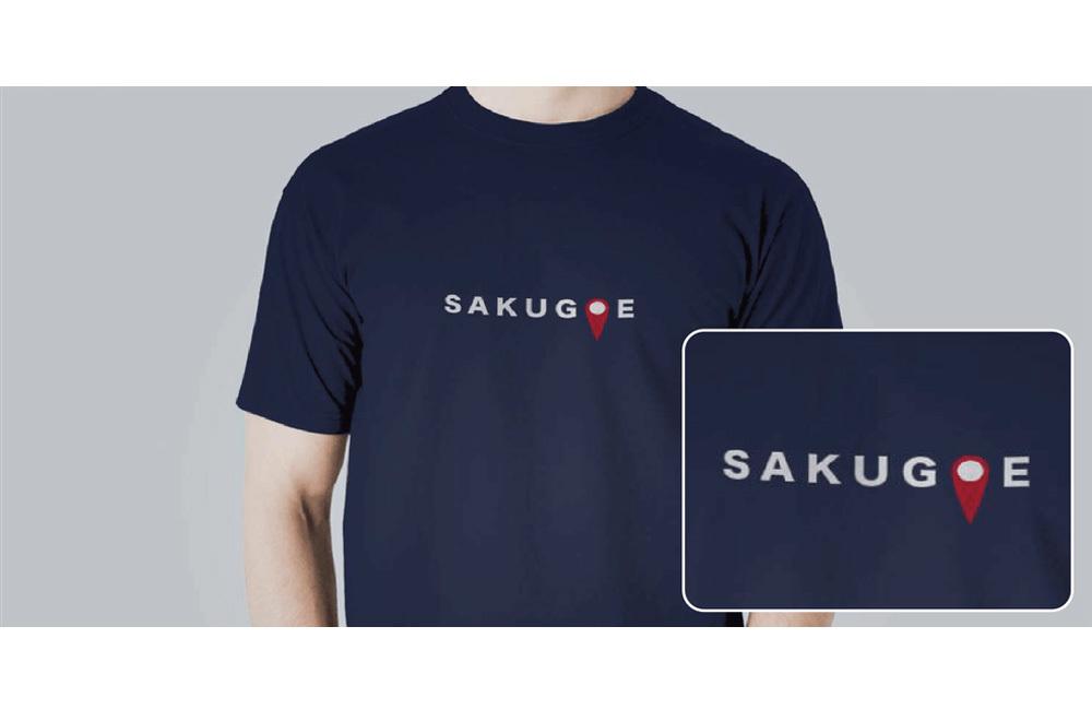 サクゴエ/文字Tシャツ
