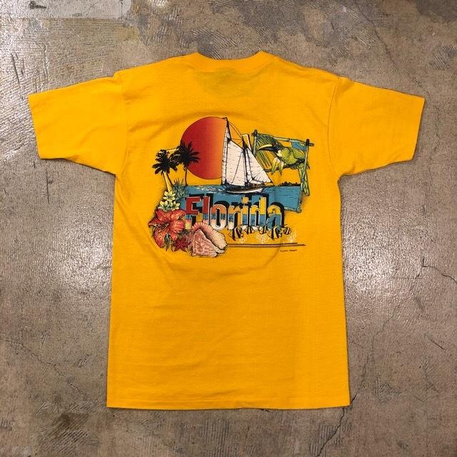 Vintage Florida Daytona Beach Print Tee ¥4,600+tax