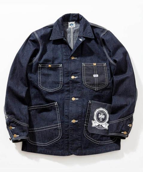 Lee×CHUMS (リー×チャムス) 35周年記念モデル Play Loco Jacket (プレイロコジャケット) Indigo (インディゴ) デニム カバーオール CH04-1131