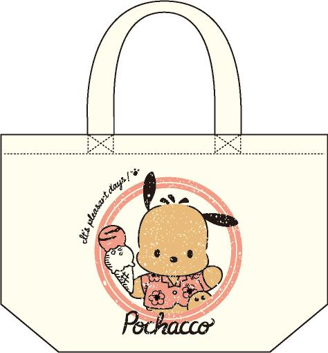 ポチャッコ cafe 限定コラボランチトート(アイスクリームタイプ)