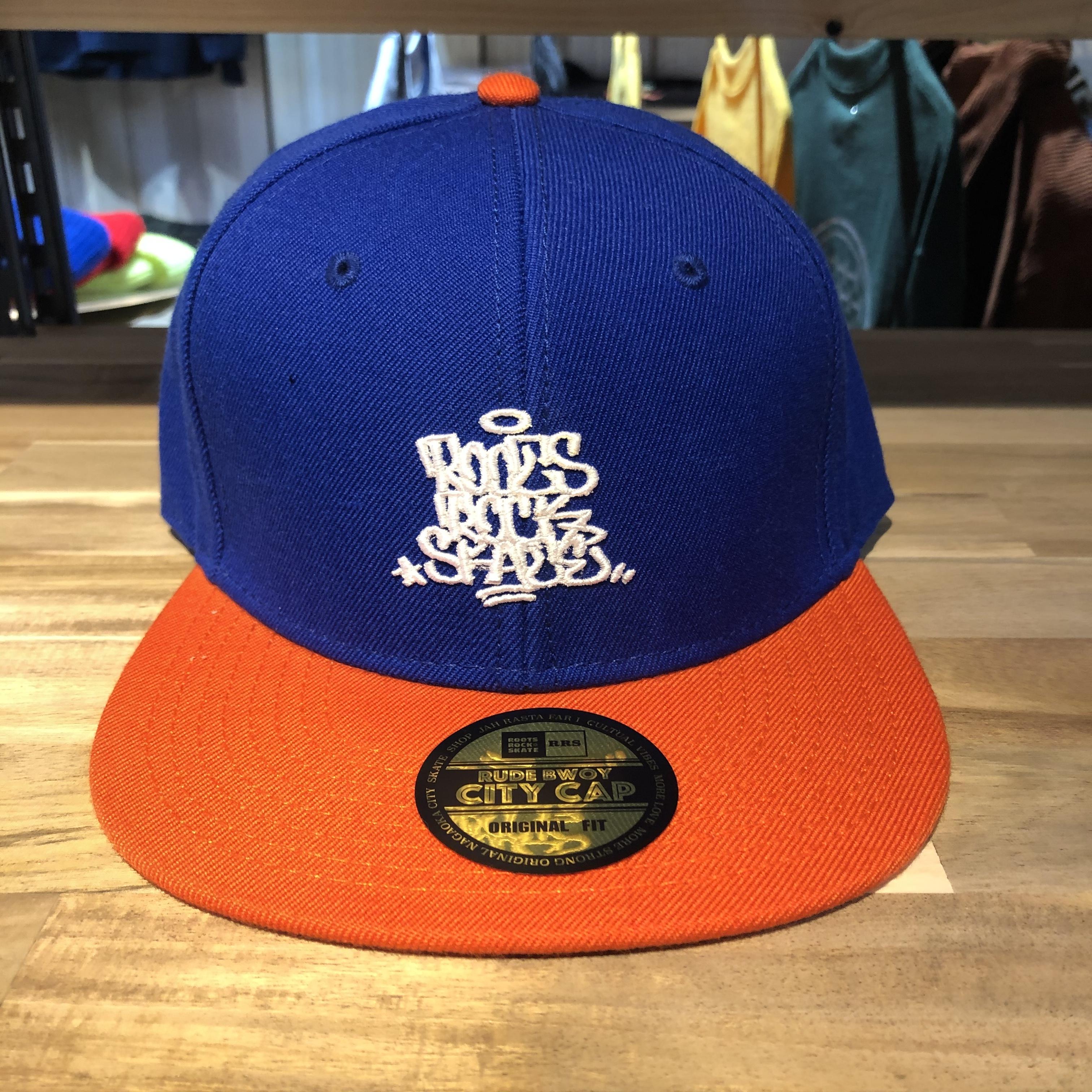 R.R.S 【Logo刺繍 SNAP BACK CAP】