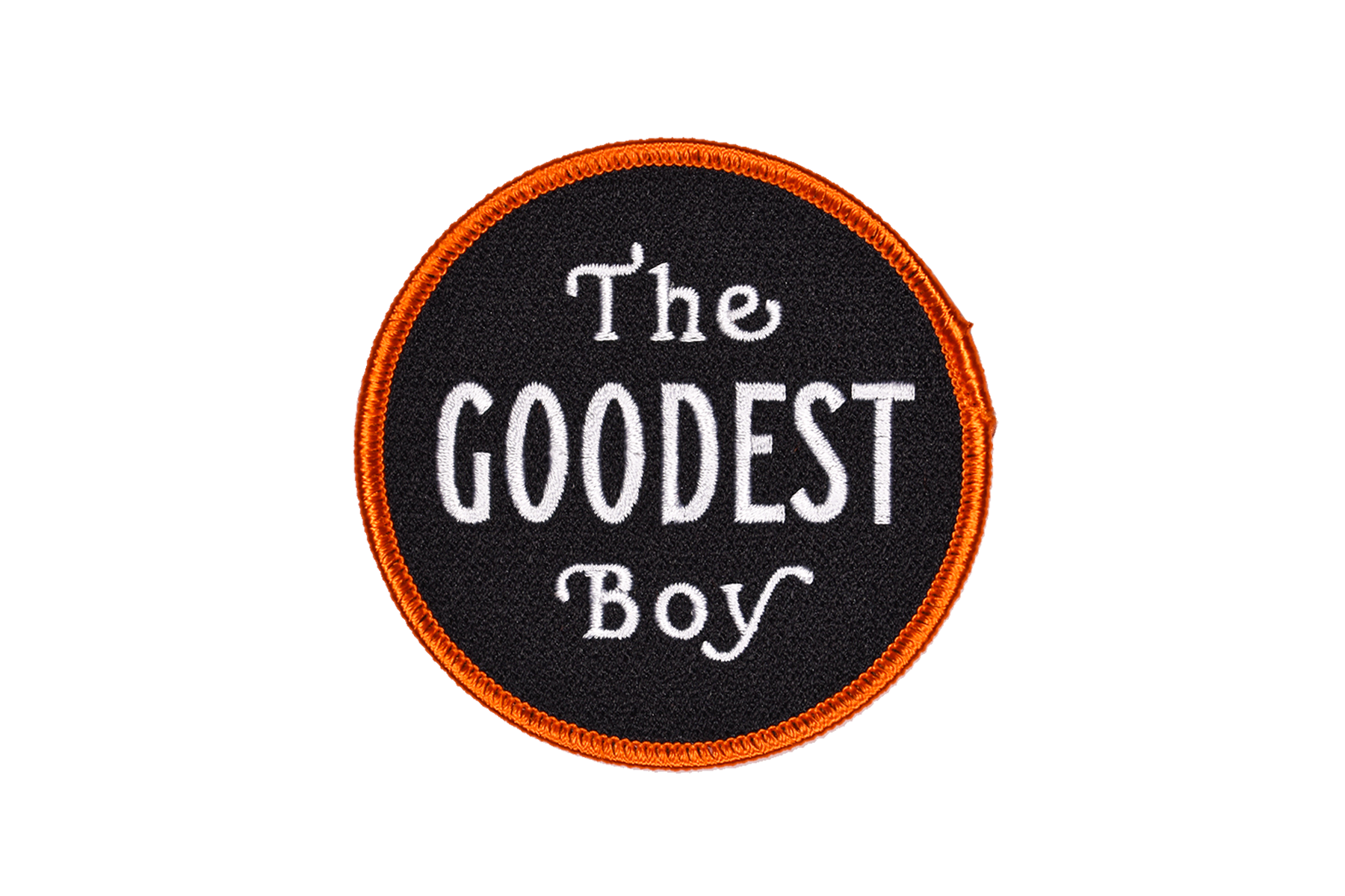 THE GOODEST BOY Embroidered Patch