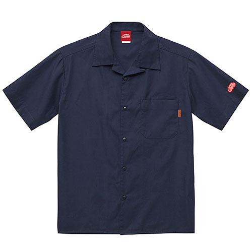 オープンカラーシャツ 半袖 / ネイビー | SINE METU - シネメトゥ