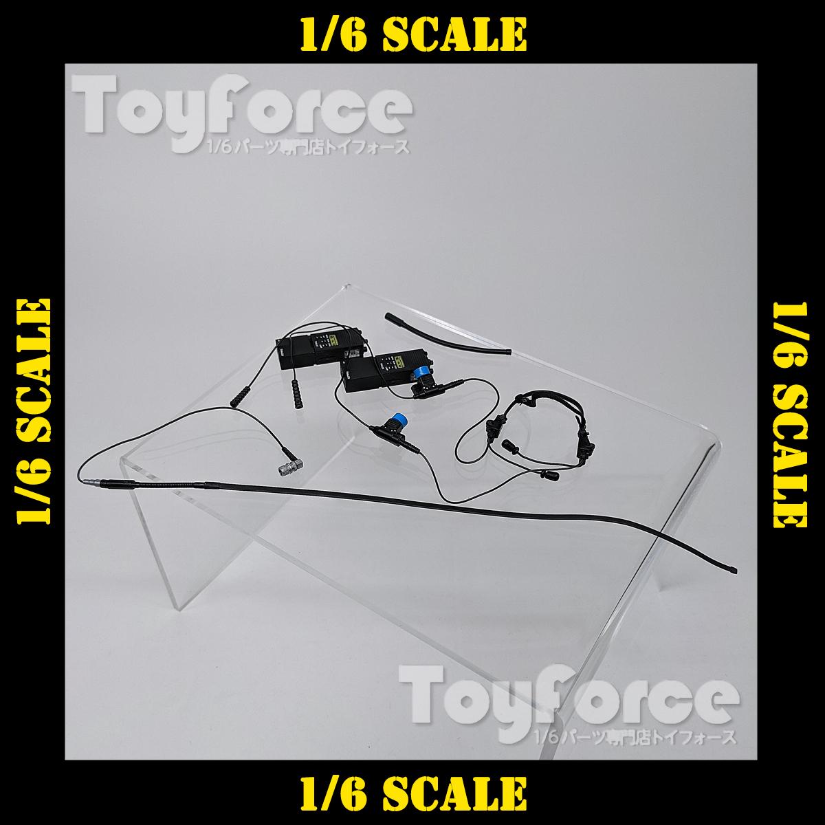 【06379】 1/6 Easy & Simple Dominator/DualChannel w/2 PRC-148 無線機