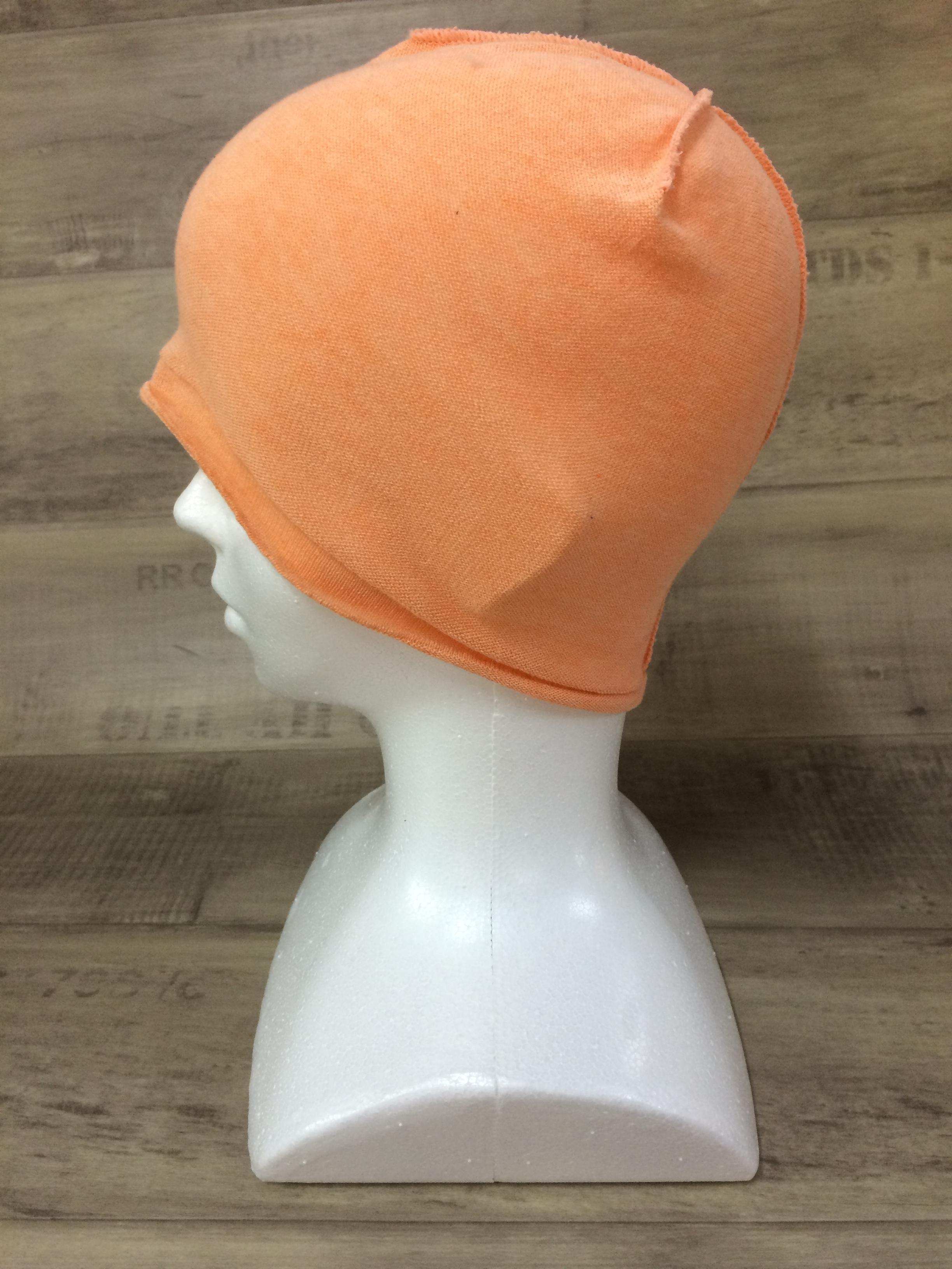 【送料無料】こころが軽くなるニット帽子amuamu|新潟の老舗ニットメーカーが考案した抗がん治療中の脱毛ストレスを軽減する機能性と豊富なデザイン NB-6057|夕張メロン <オーガニックコットン インナー>