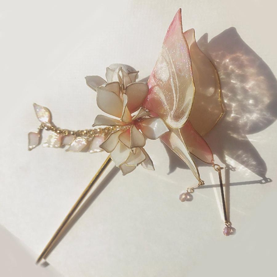 【螺鈿】ー胡蝶(ピンク) Phalaenopsis