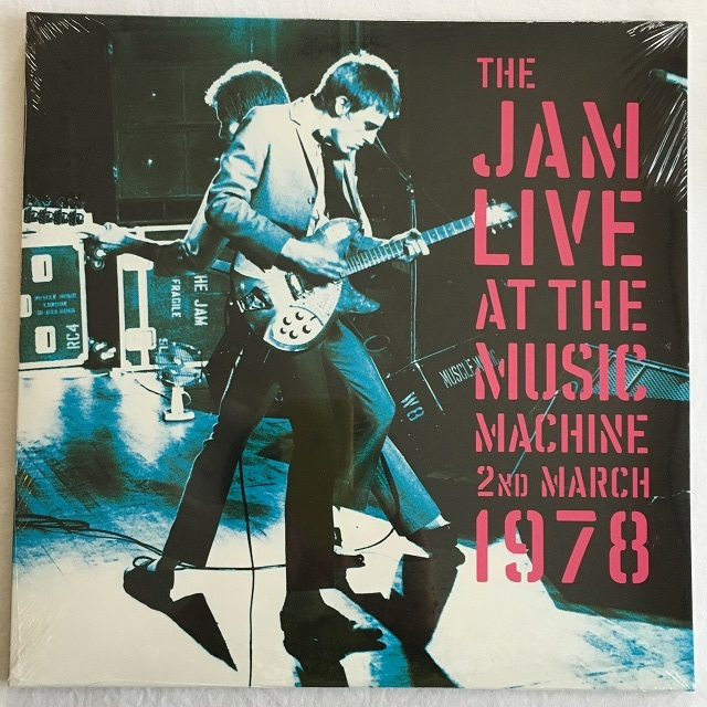 【LPx2 ・欧州盤】The Jam  / The Jam Live At The Music Machine 2nd March 1978
