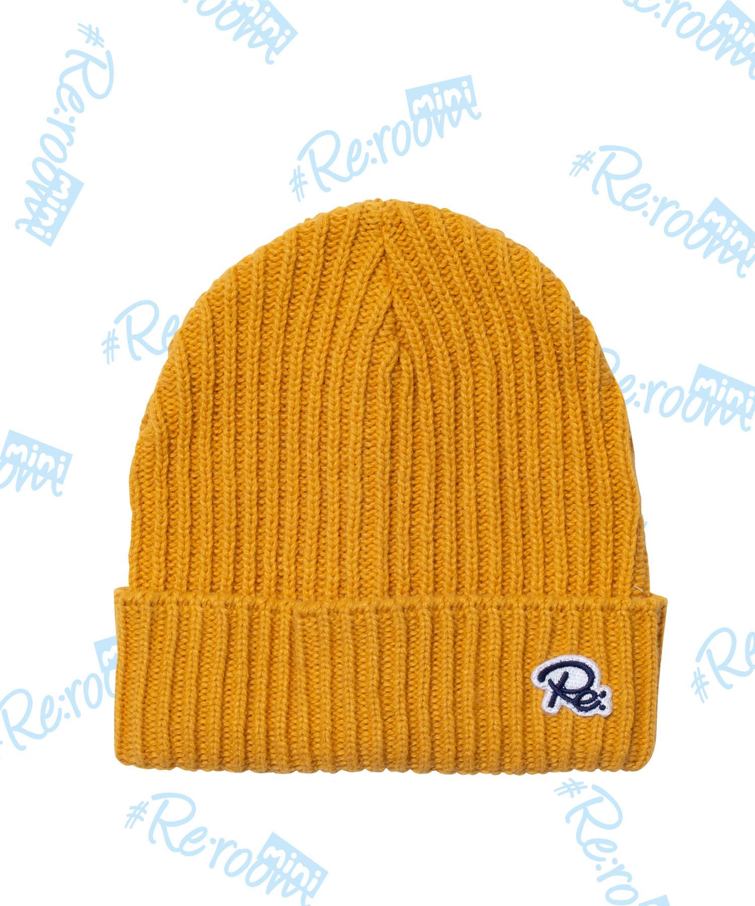 Re PATCH KNIT CAP[RKH001]