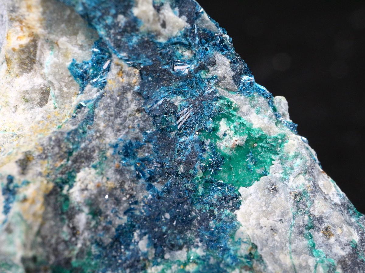 クリノクレース 斜開銅鉱 ネバタ州産 58,6g CLC002 鉱物 原石 天然石 パワーストーン