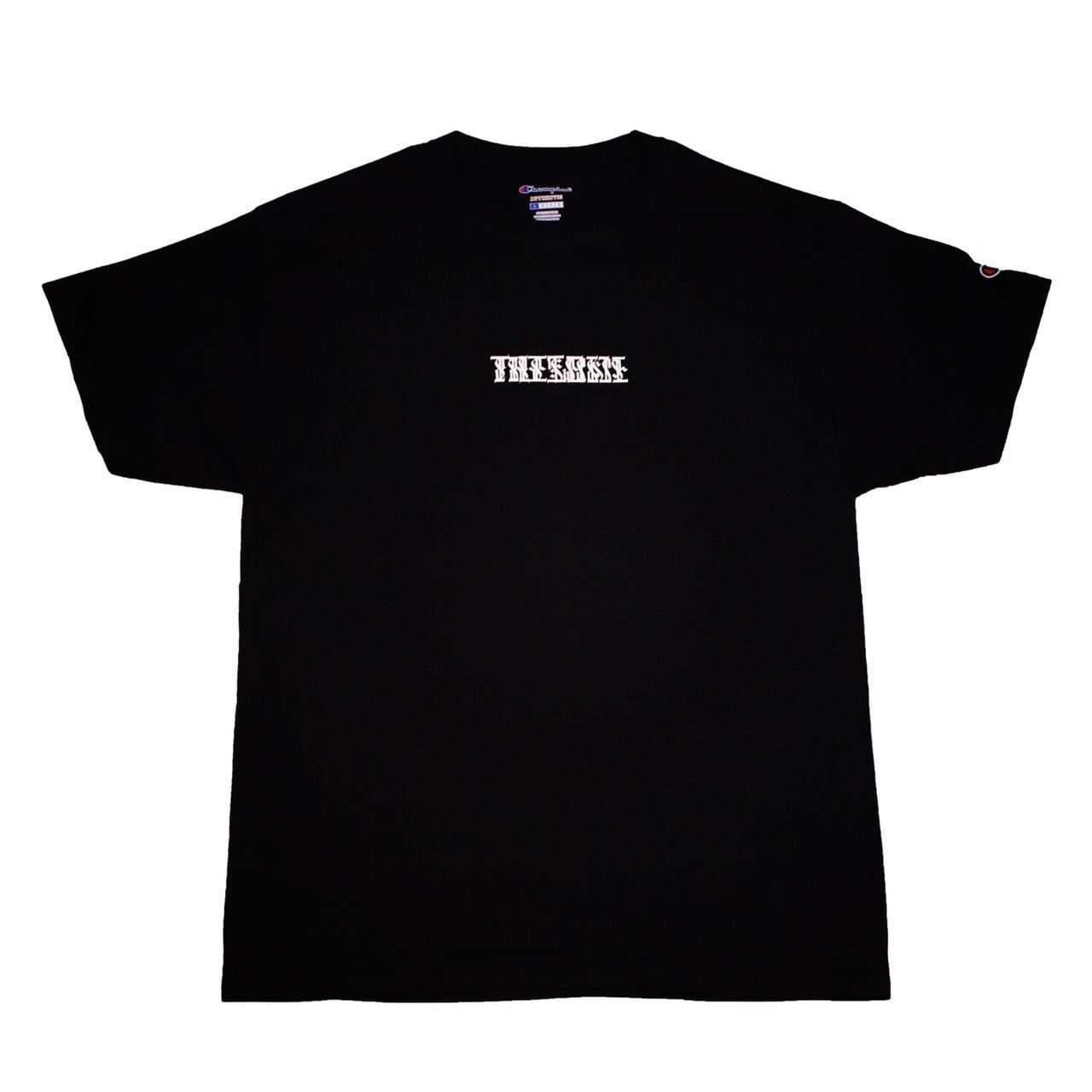 THISONE x gam TEE (BLACK)