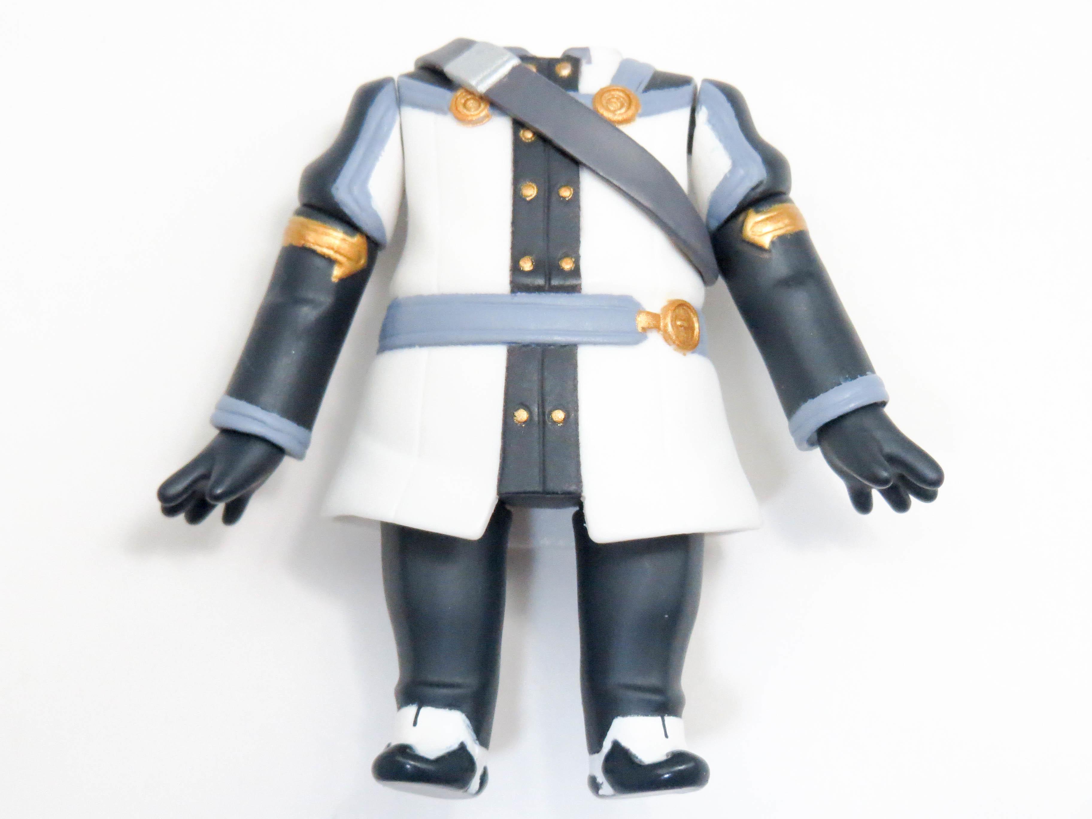 【750b】 キリト OSVer. 体パーツ 戦闘服 ねんどろいど