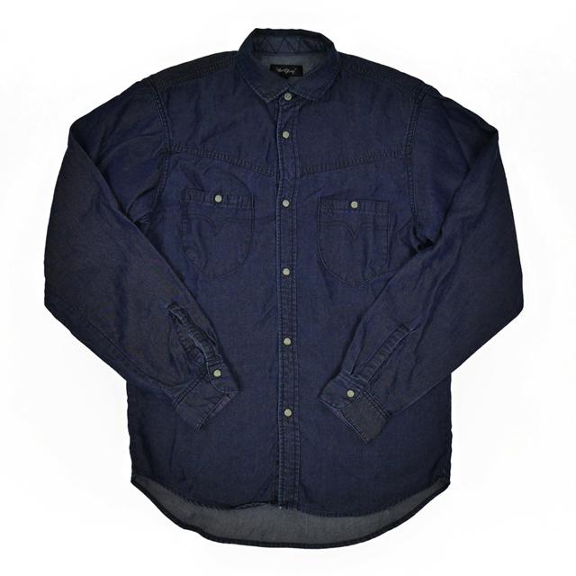 【OR GLORY オアグローリー】 テンセルデニム ウエスタンシャツ インディゴ (Westerly Shirts Indigo)