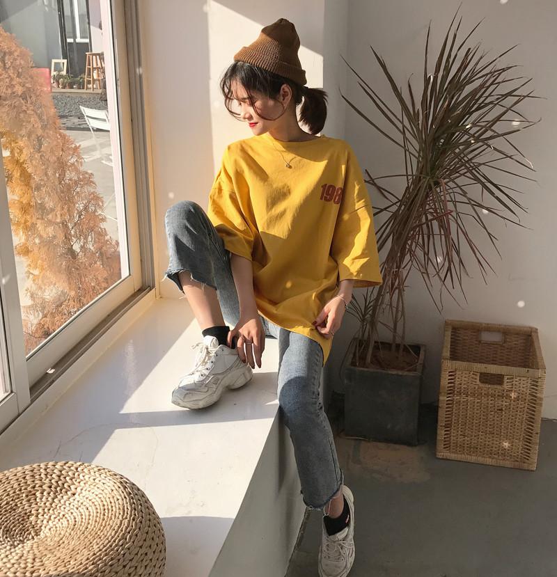オーバーサイズ 【1987】Tシャツ 3カラー tk2019