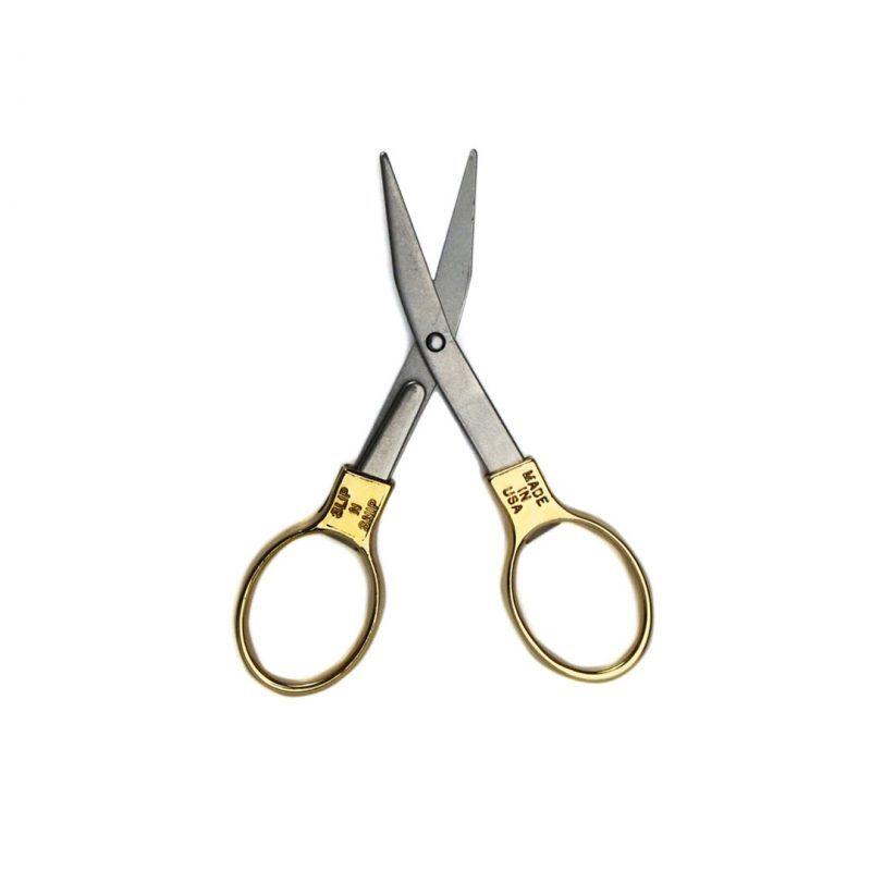Slip-N-Snip Folding Scissors Brass フォールディングシザーズ