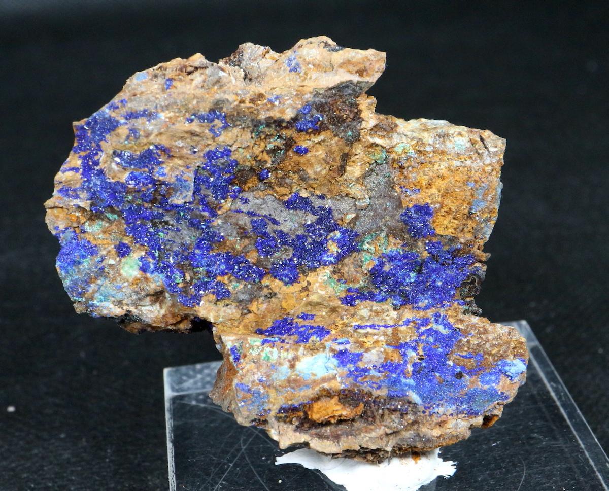 ネバタ産 アズライト 藍銅鉱 アジュライト 48g 原石 鉱物 標本 AZR008 パワーストーン 天然石