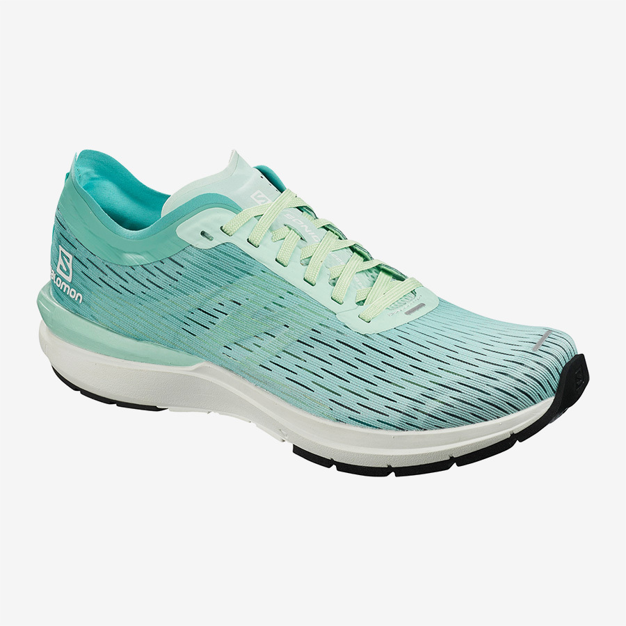Salomon サロモン ウィメンズ Women SONIC 3 ACCELERATE W L40974800  Icy Morn / White / Meadowbrook