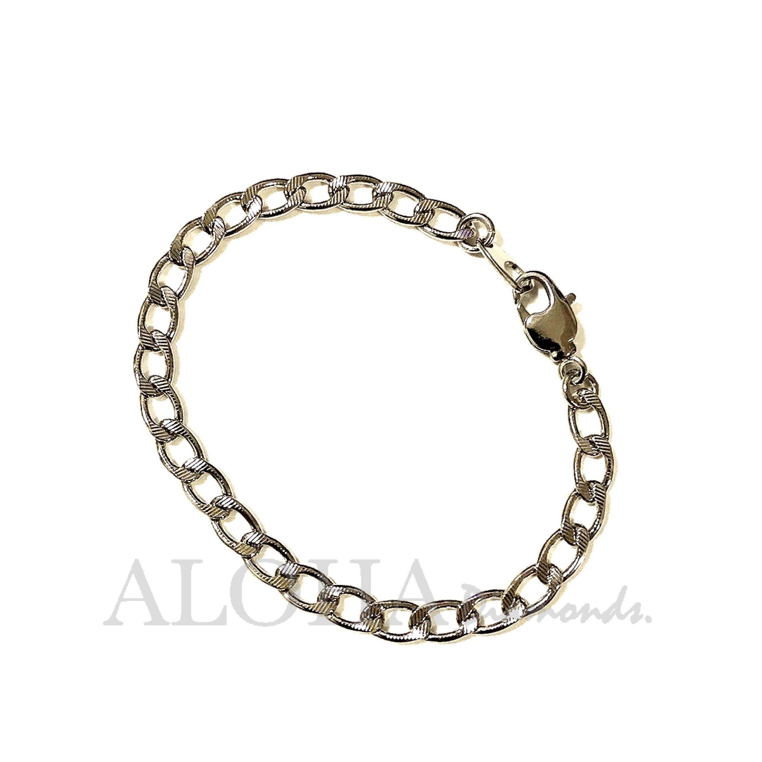 ●●● The chain - No.5 ●●● シルバー/ブレスレット(ブレスレット単品)