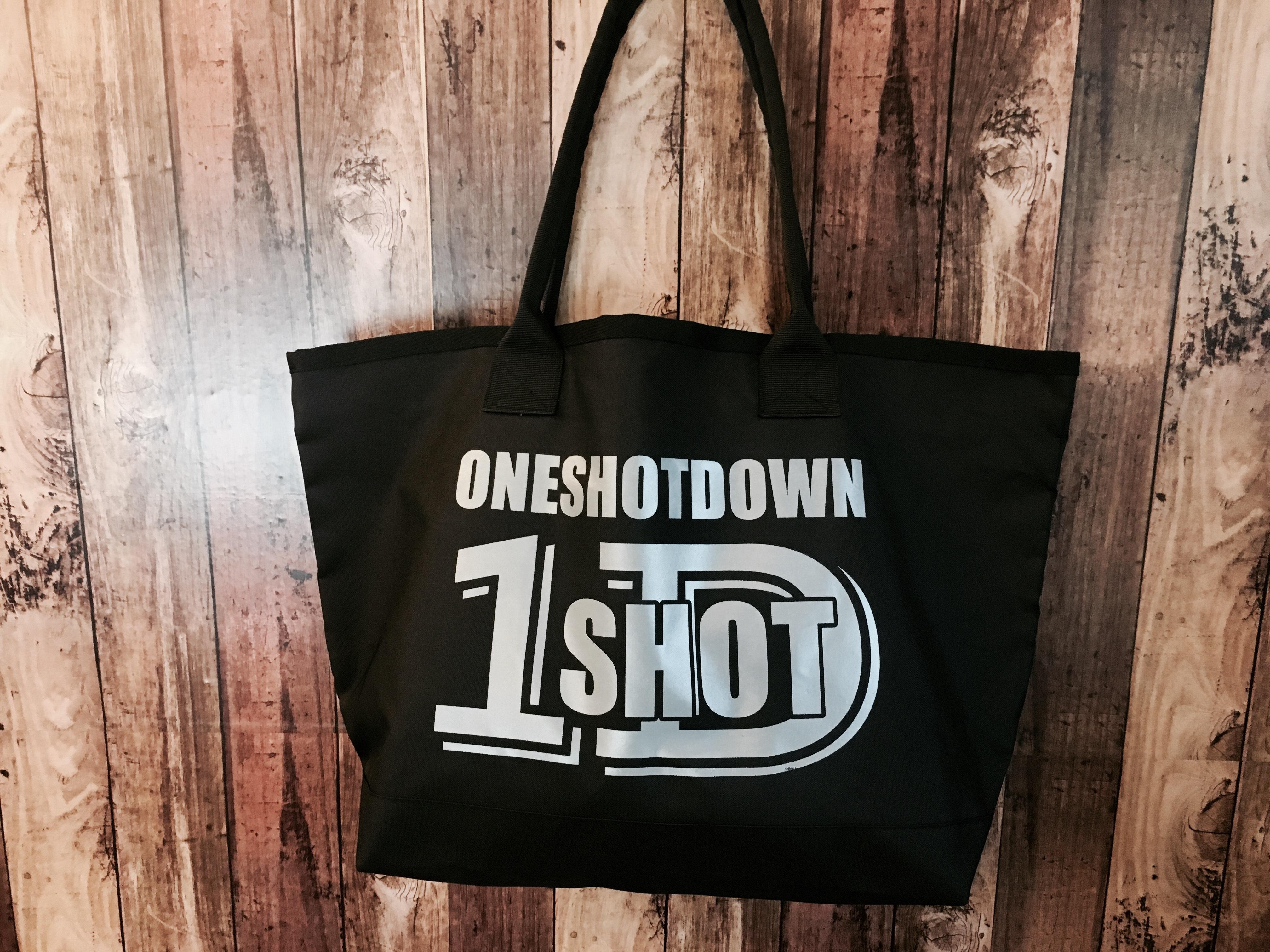 ONESHOTDOWN ポリエステルトールバッグ - 画像4