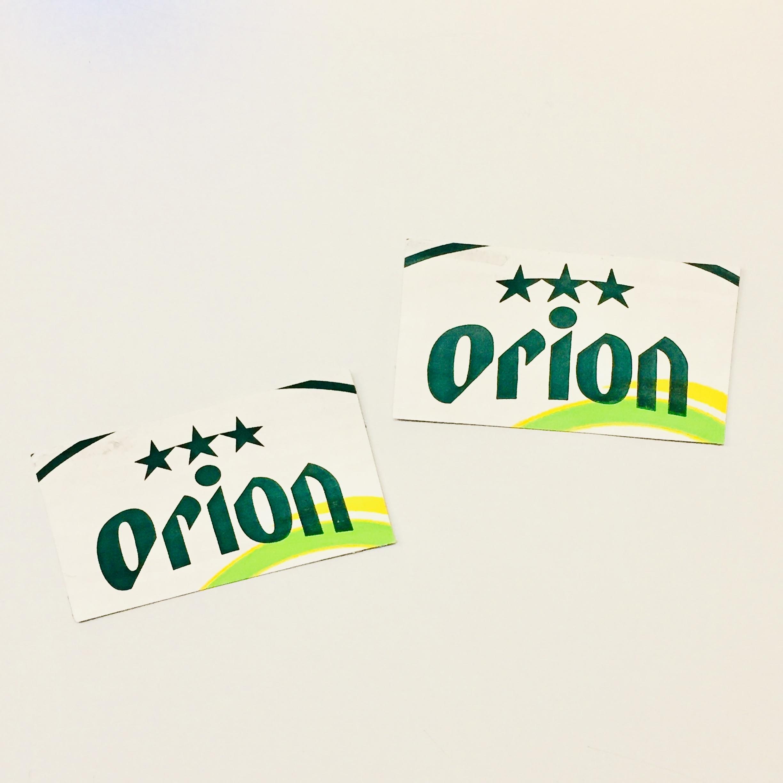 オリオンビール ステッカー 大 / rubodan ( ルボダン )