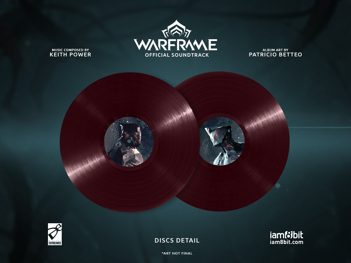 【ウォーフレーム】Warframe Vinyl Soundtrack 2xLP - 画像5