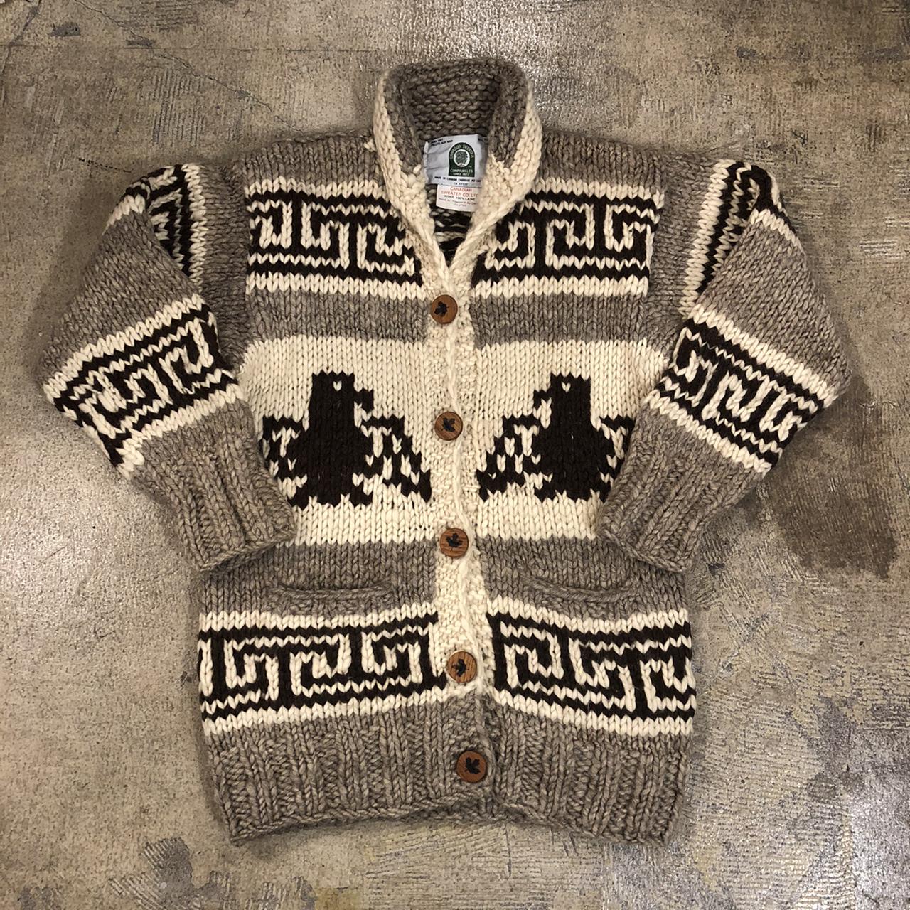 Cowichan Thunderbird Button Sweater ¥11,600+tax