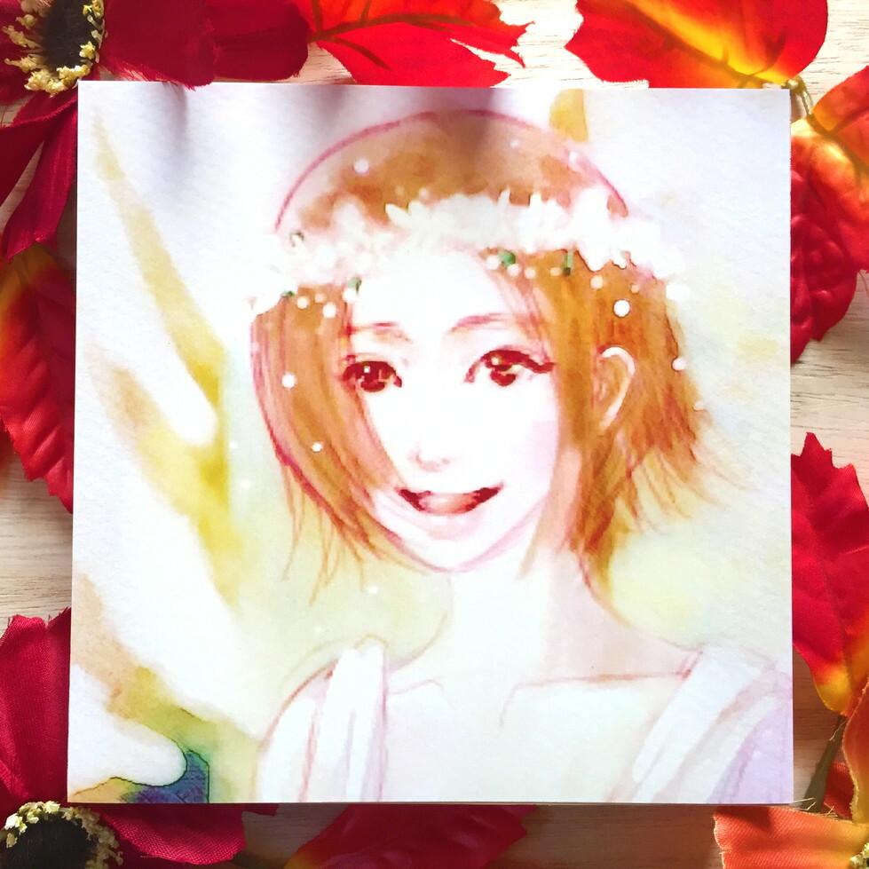 絵画 インテリア アートパネル 雑貨 壁掛け 置物 おしゃれ 人物画 女性 ロココロ 画家 : Hiro K 作品 : gypsophila