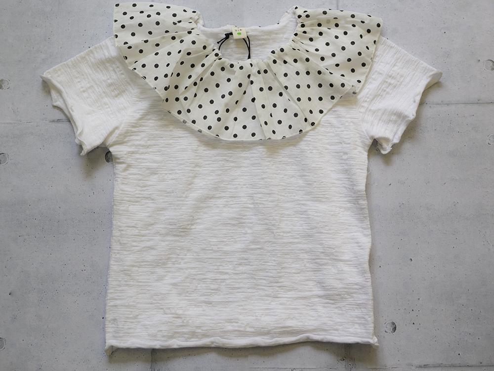 ドットフリル Tシャツ