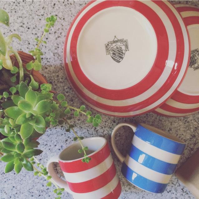 Cornish Ware Cereal Bowls 17cm