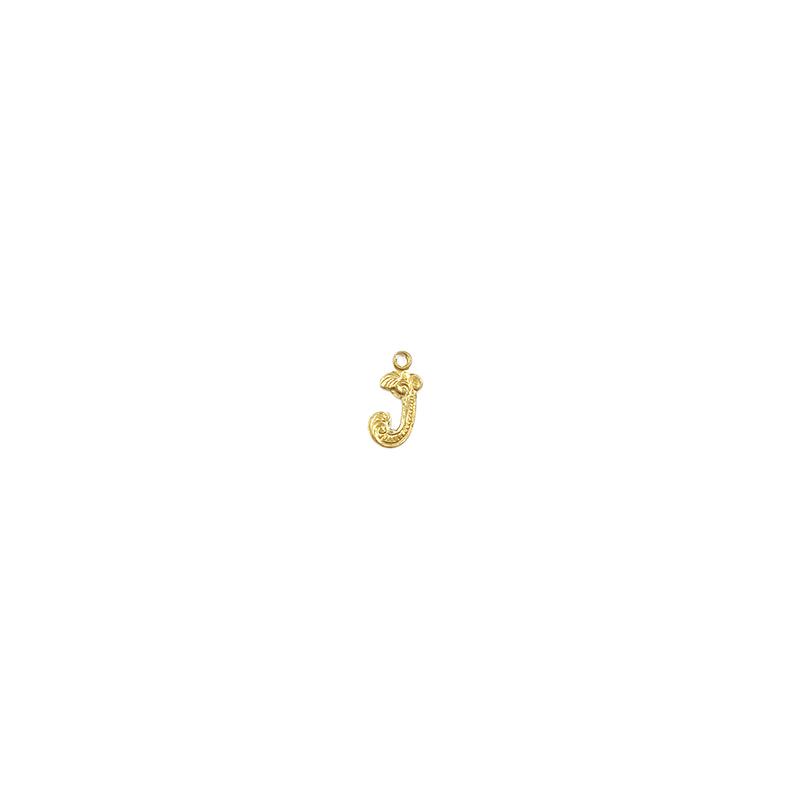 【70%OFF】アルファベット装飾J
