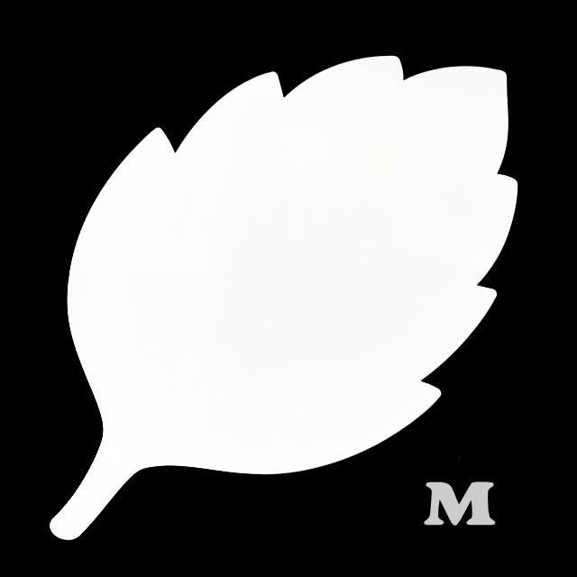 葉っぱ型(M)