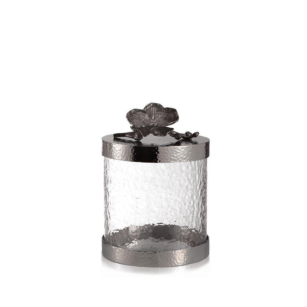 Michael Aram Black Orchid Canister S(マイケルアラム ブラックオーキッド キャニスターS) / 110700