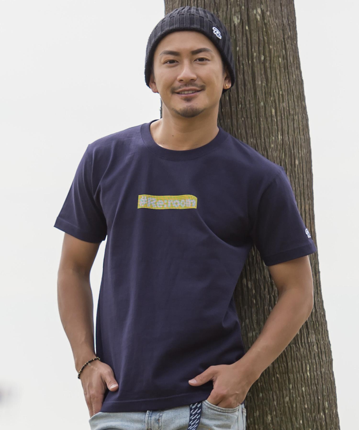 #Re:room BOX LOGO DOT PRINT T-shirt[REC176]