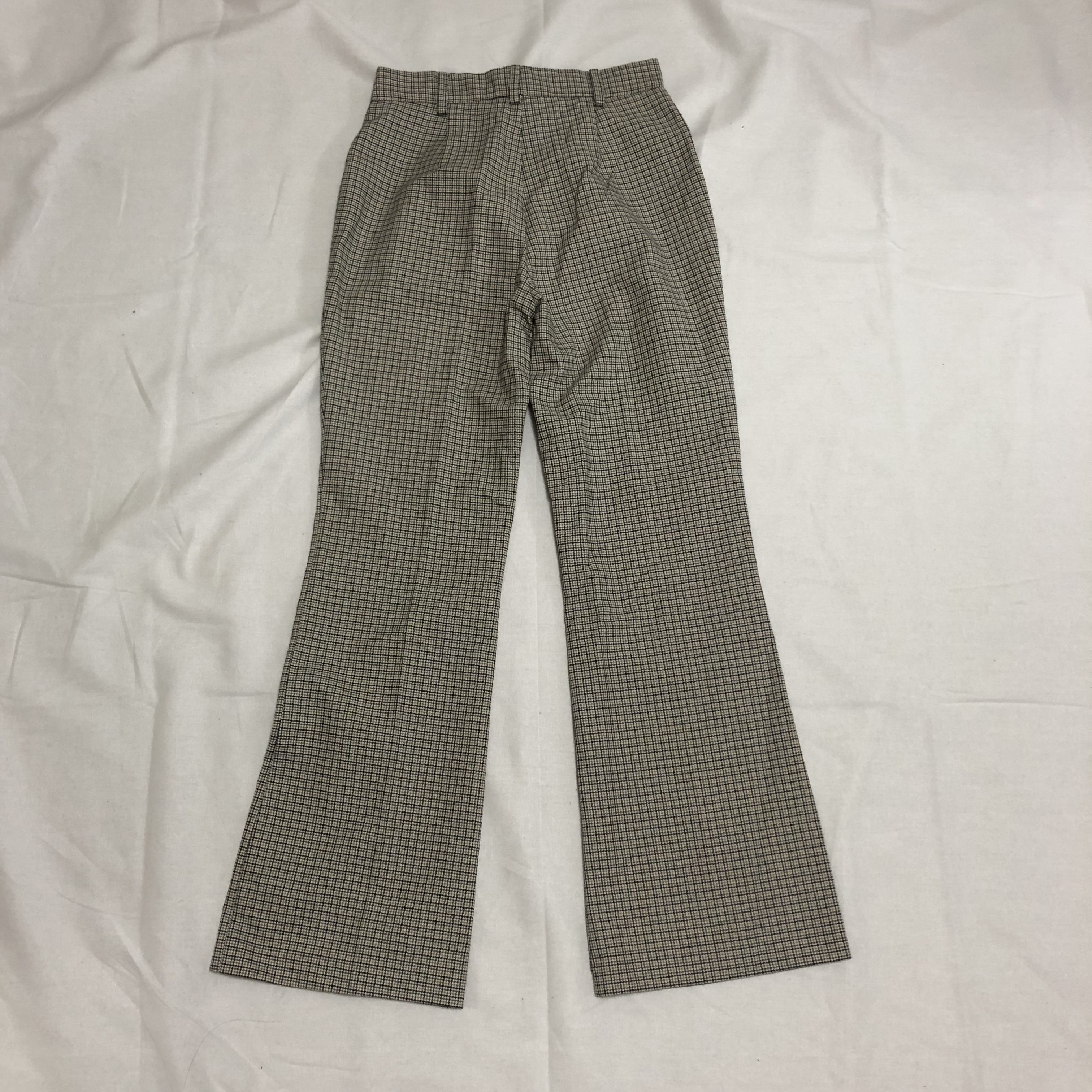 rétro check pants [green]