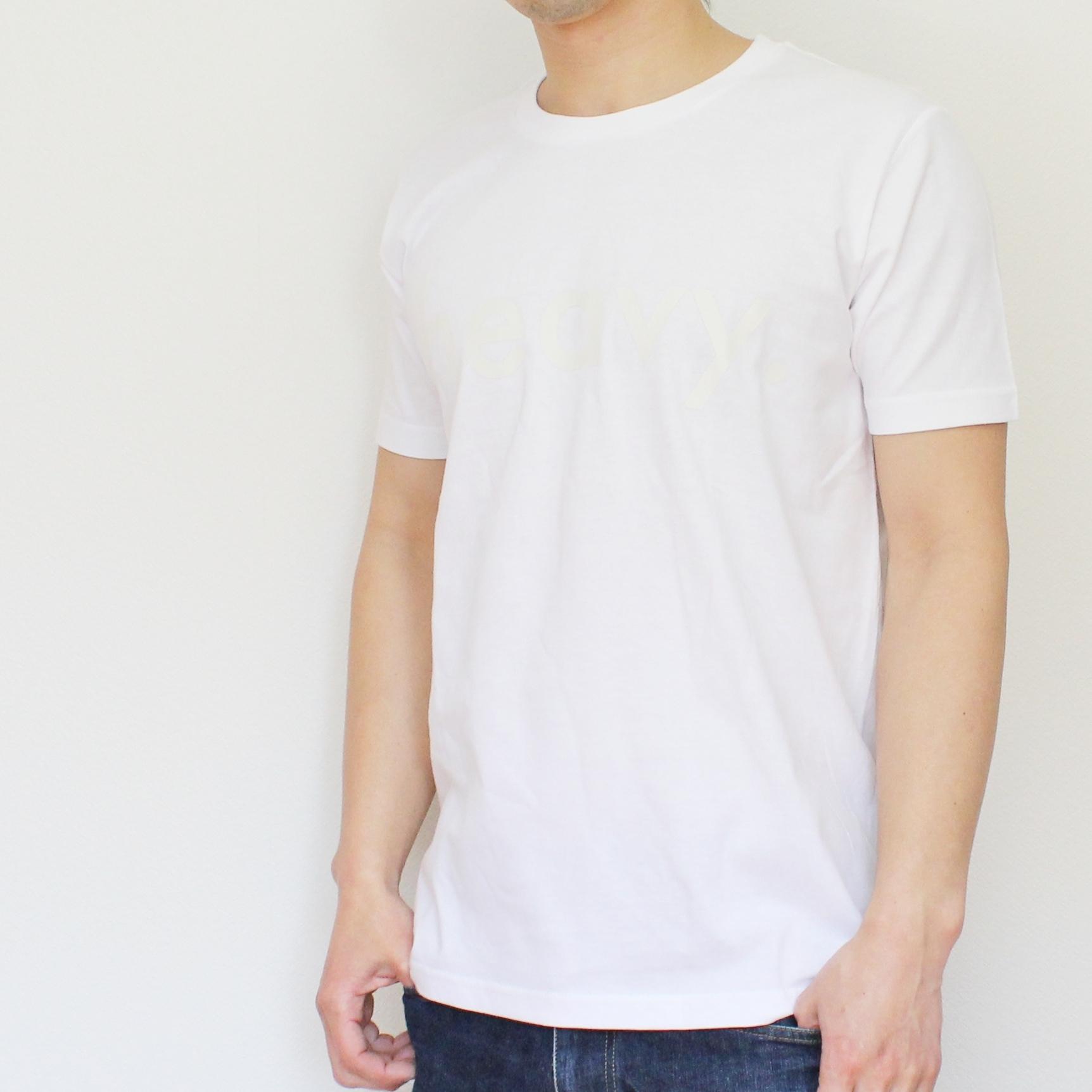 logo tee WHITE [2017SS] - 画像1
